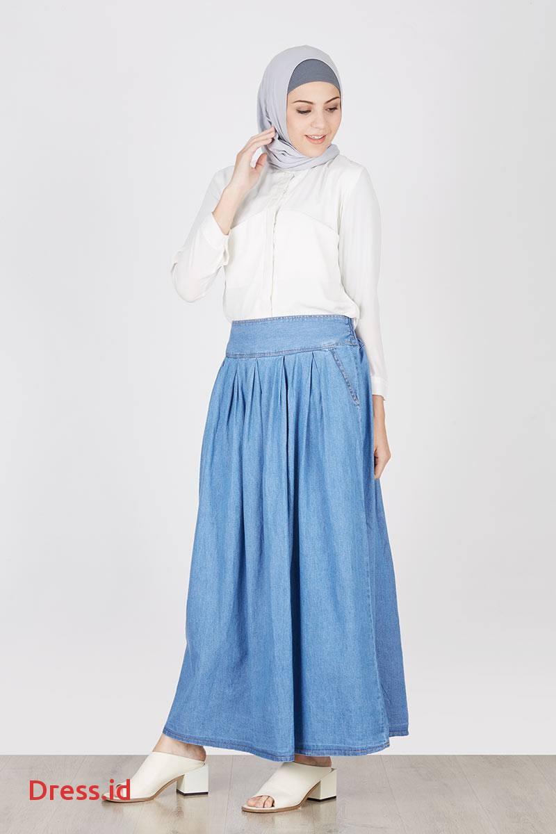 Grosir Distributor Rok Jeans 04 Harga Murah Bagus Berkualitas